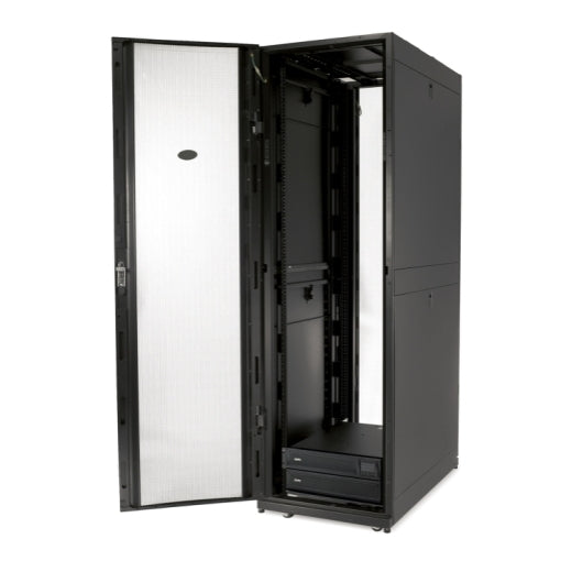 APC AR3107 NetShelter SX 48U 600mm Wide x 1070mm Deep Enclosure with Sides Black