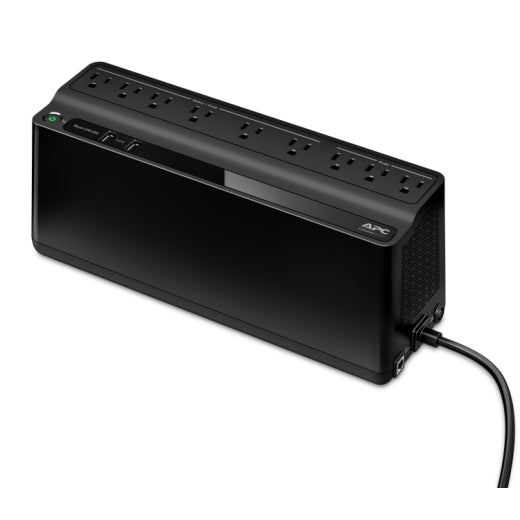 APC BE850M2 Back-UPS, 850VA, 2 USB charging ports, 120V