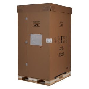 APC AR3355SP NetShelter SX 45U 750mm Wide x 1200mm Deep Enclosure with Sides Black -2000 lbs. Shock Packaging
