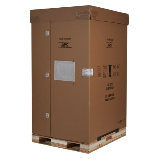 APC AR3305SP NetShelter SX 45U 600mm Wide x 1200mm Deep Enclosure with Sides Black -2000 lbs. Shock Packaging