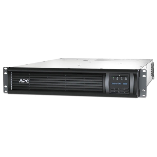 APC SMT3000RM2UNC Smart-UPS 3000VA LCD RM 2U 120V with Network Card