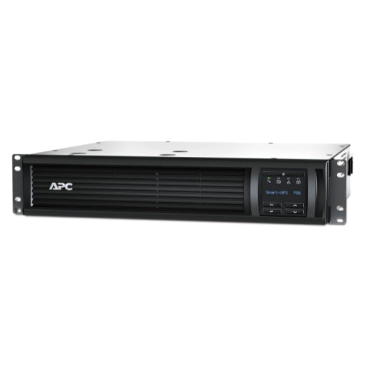 APC SMT750RM2UNC Smart-UPS 750VA LCD RM 120V with Network Card