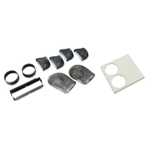 APC Rack Air Removal Unit SX Ducting Kit 24 inch, ACF126