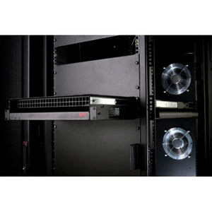 APC Rack Side Air Distribution 2U 115V 60HZ, ACF201BLK