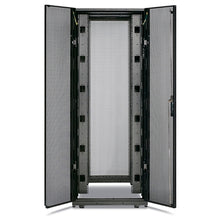Load image into Gallery viewer, APC AR3350 NetShelter SX 42U 750mm Wide x 1200mm Deep Enclosure with Sides Black