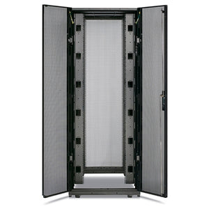 APC AR3350SP NetShelter SX 42U 750mm Wide x 1200mm Deep Enclosure with Sides Black -2000 lbs. Shock Packaging