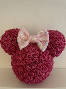 MAGICAL MOUSE - pink mit Schleife