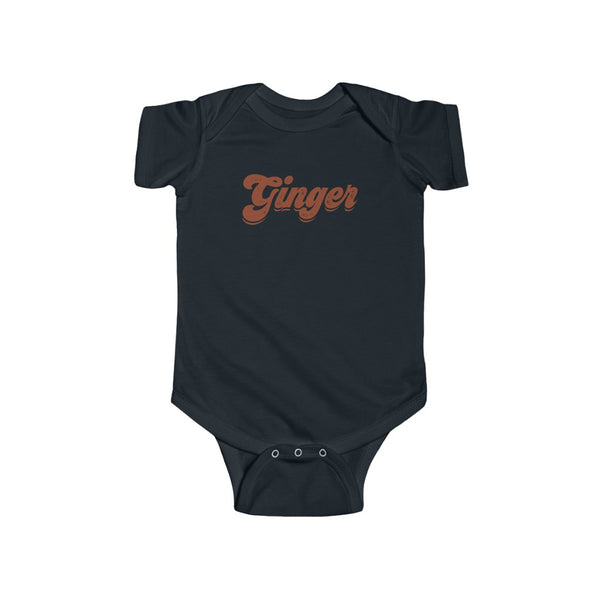 Baby - Ginger Babe Onesie Infant Rip Snap Tee