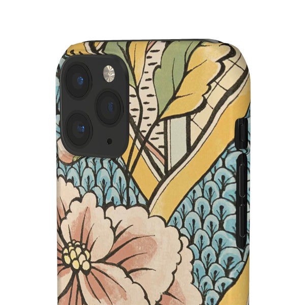 Floral Wallpaper Snap Phone Case