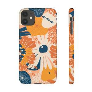 Autumn Floral Snap Phone Case