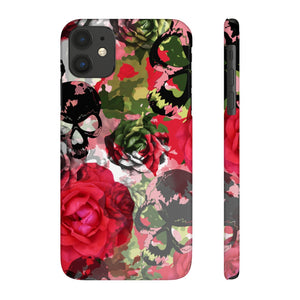 Skulls Camo & Roses Snap Phone Case