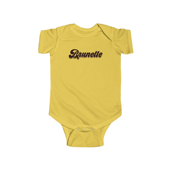 Baby - Brunette Babe Onesie Infant Rip Snap Tee