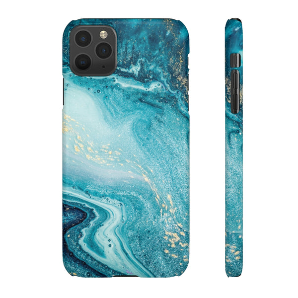 Ocean Marble Snap Phone Case