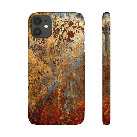 Rust Snap Phone Case