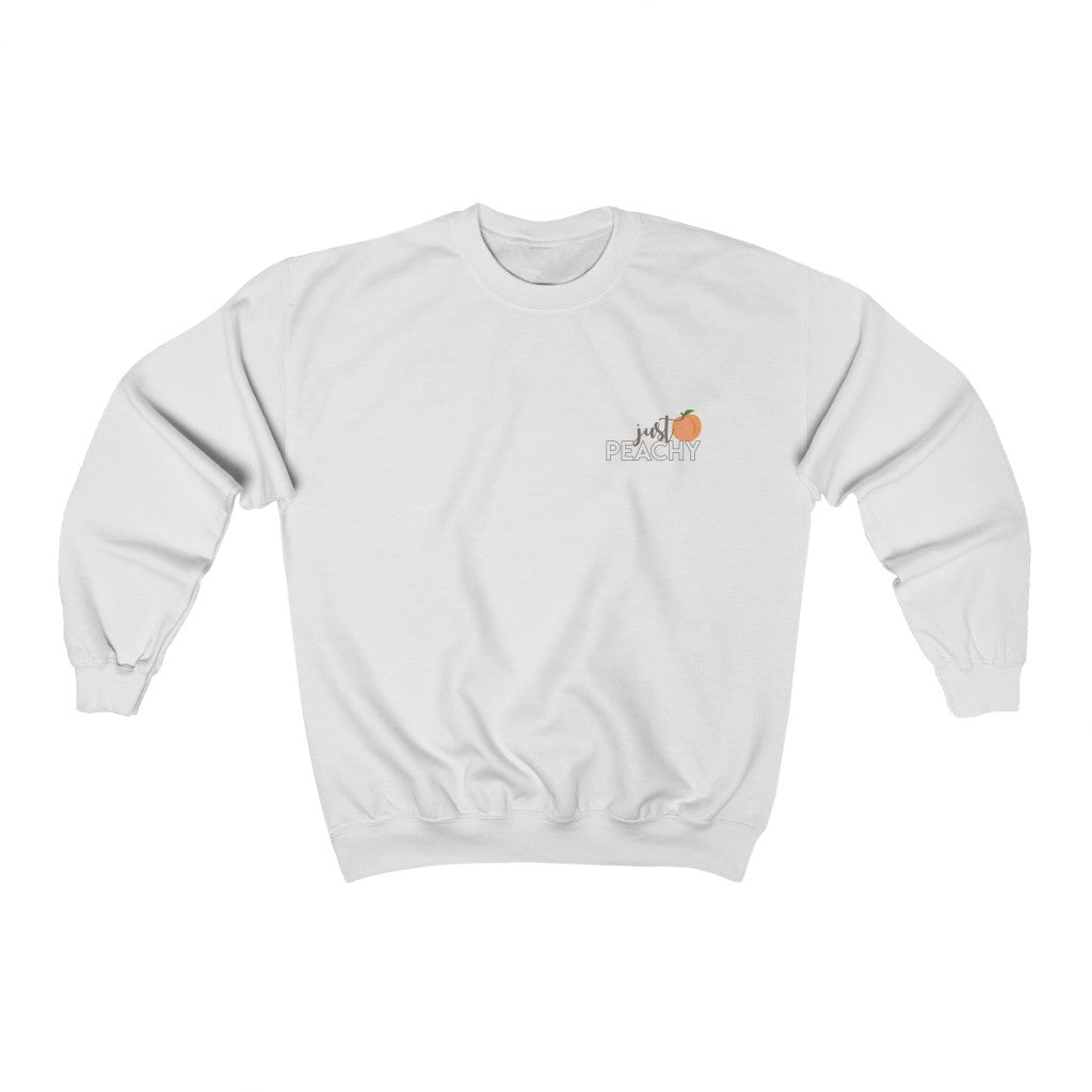Just Peachy Unisex Crewneck Sweatshirt