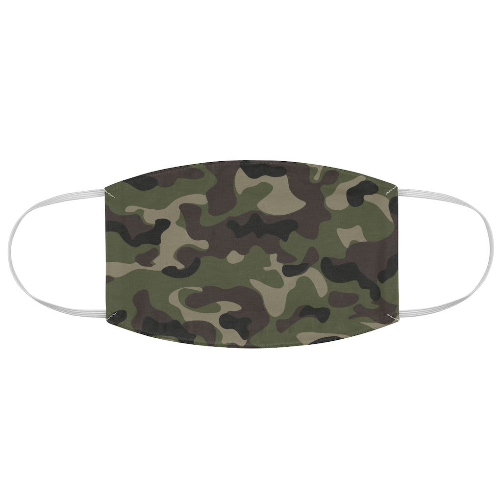 Camo Fabric Face Mask