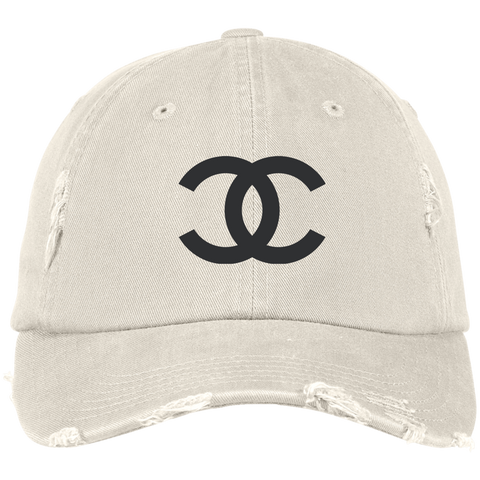 CC Designer Inspired Distressed Hat