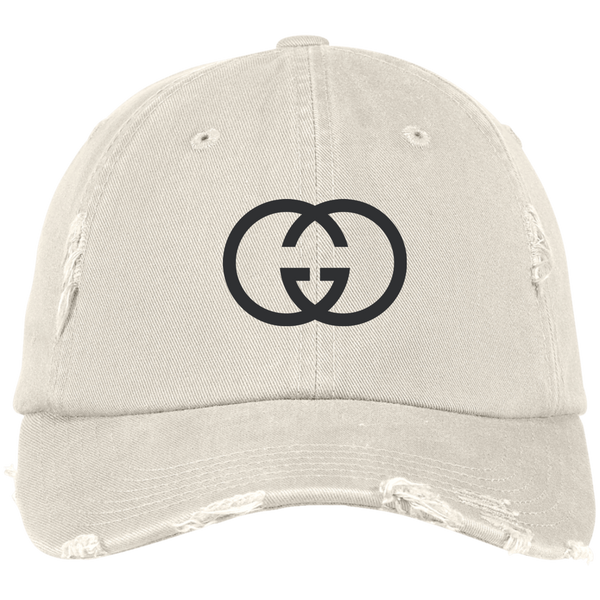 GG Designer Inspired Distressed Hat