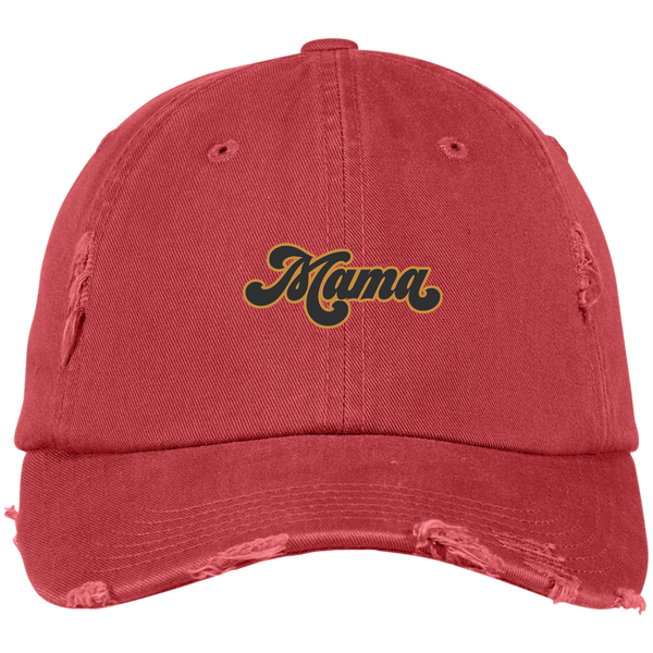 Mama Distressed Hat