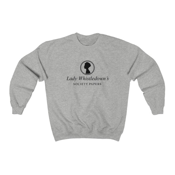 Lady Whistledown's Society Papers Crewneck Sweatshirt