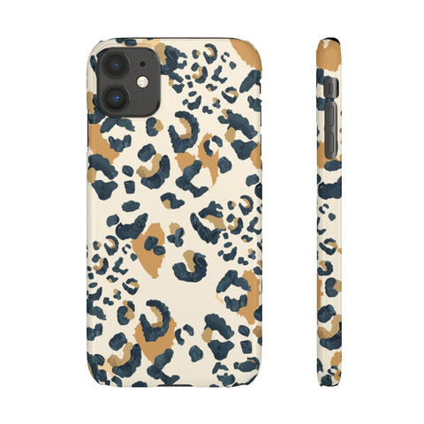 Cheetah Print Snap Phone Case