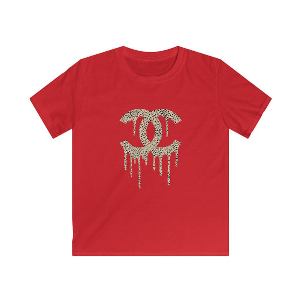 Youth - Dripping Cheetah CC Kids Tee