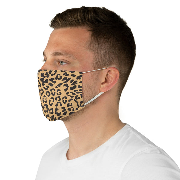 Cheetah Fabric Face Mask