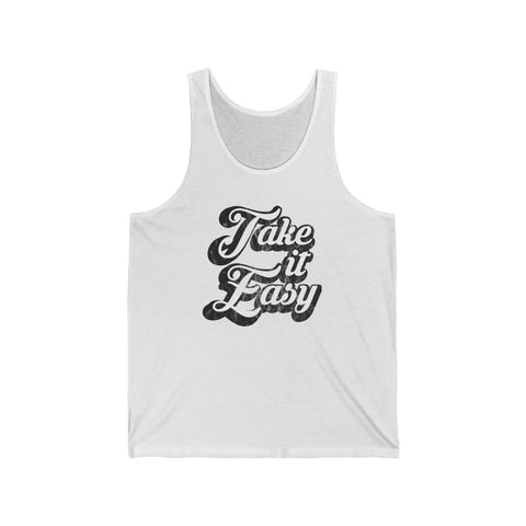 Take It Easy Unisex Tank