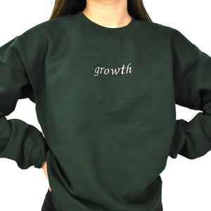 Growth Embroidered Sweater