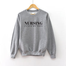 Load image into Gallery viewer, Nursing Graduation Year Crewneck