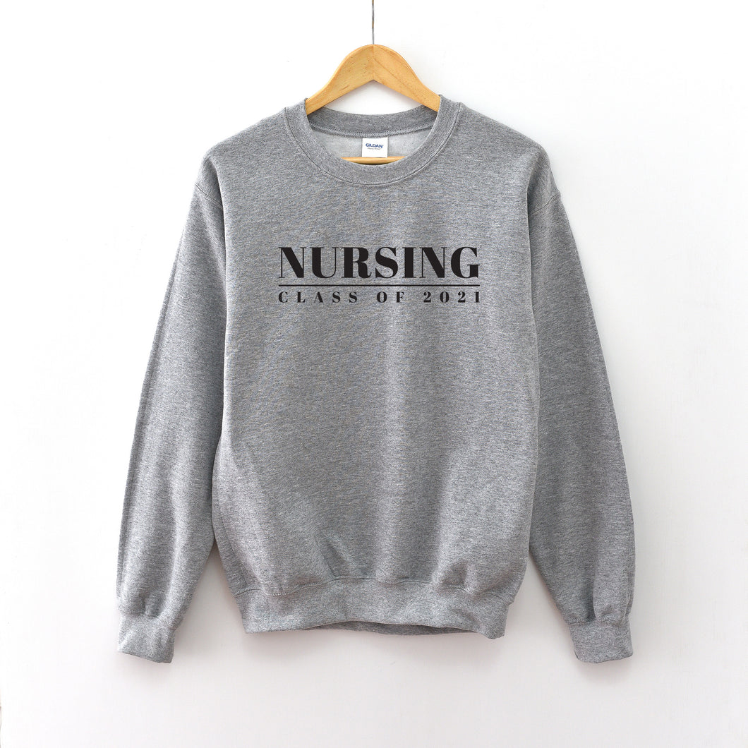 Nursing Graduation Year Crewneck