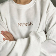 Load image into Gallery viewer, Nurse Embroidered Sweater
