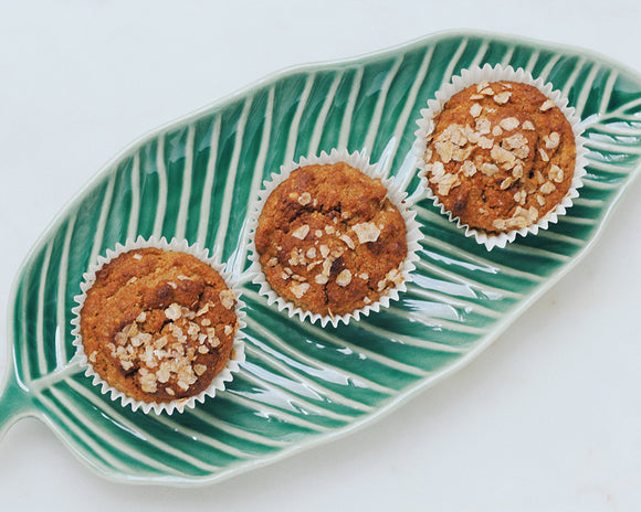 Banana Zucchini Oatmeal Muffin Recipe