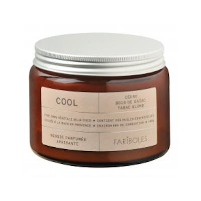 BOUGIE COOL 400G Bougie FARIBOLES
