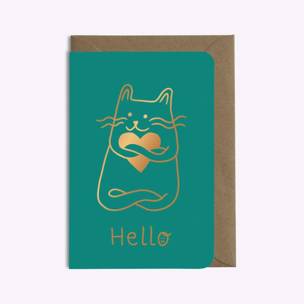 CARTE CAT IN LOVE carte LES EDITIONS DU PAON