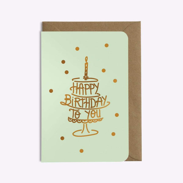 CARTE HAPPY BIRTHDAY CONFETTIS carte LES EDITIONS DU PAON