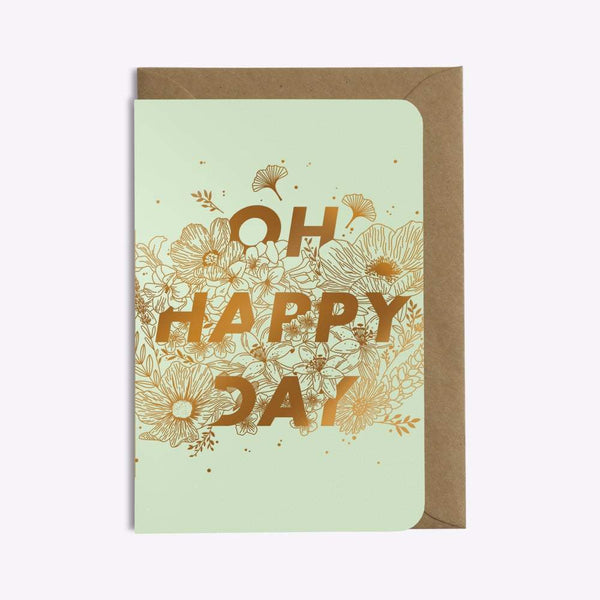 CARTE OH HAPPY DAY carte LES EDITIONS DU PAON