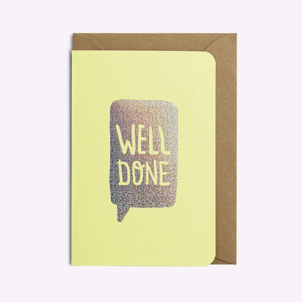 CARTE WELL DONE carte LES EDITIONS DU PAON