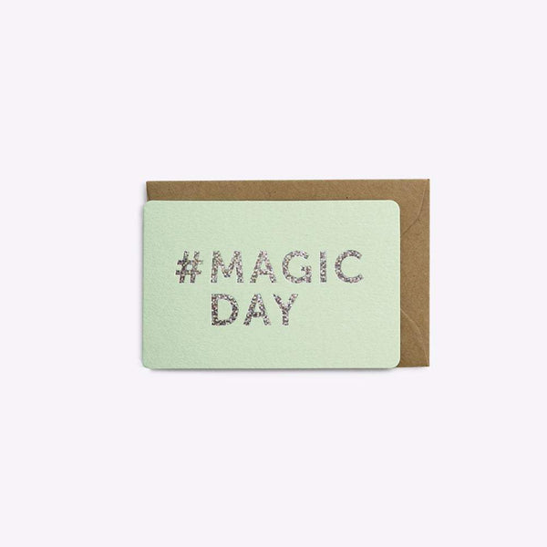 MINI CARTE #MAGIC DAY carte LES EDITIONS DU PAON