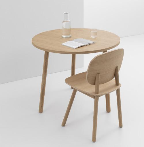 TABLE RONDE PADDLE 90cm Table CRUSO