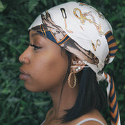 Realm Brown Headscarf