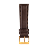 BROWN SMOOTH CALFSKIN - PIN BUCKLE - Firle Watches