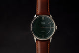 Sennen Automatic in Green, Silver & Cognac