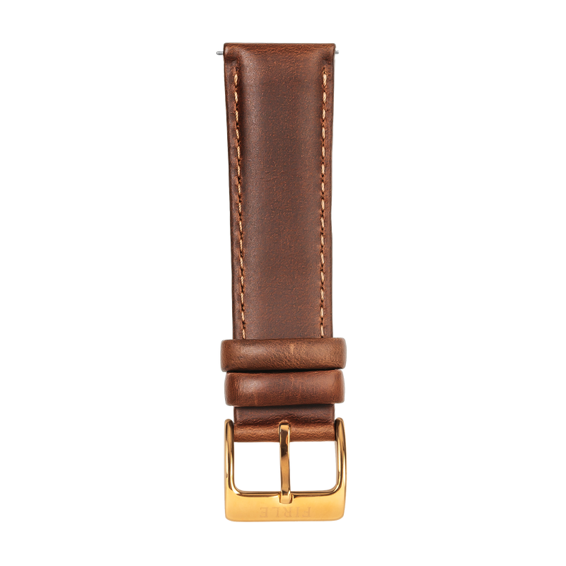 LIGHT BROWN VINTAGE COWHIDE - PIN BUCKLE