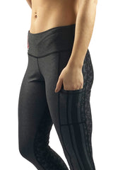 "The ""2020 Vision"" Game Day Buckeye Legging/Black"