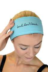 REVERSIBLE Bend Don't Break Headband