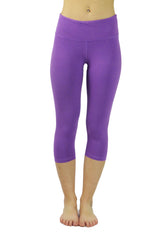 CL-6 Bamboo Cropped Pant/Purple- FINAL SALE