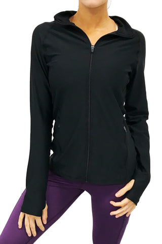 4010 - Bend Full Zip Pullover/Black