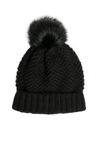 """Reese"" Knit Pom Hat (Various Colors)"