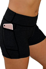 "The ""Victory"" Cell Phone Pocket Short/Black"